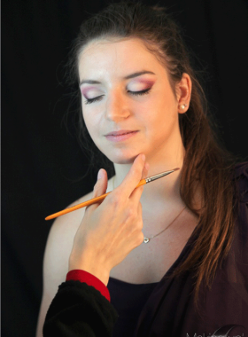 Shooting—Maquillage-Violine-Rosé