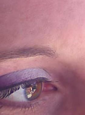maquillage-des-yeux—dégradé-violet